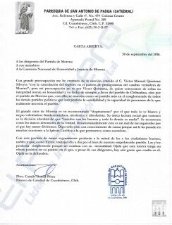 Lamenta Camilo Daniel Pérez expulsión de Víctor Quintana, dice que Morena es víctima de su fundamentalismo, mesianismo y absolutismo   El Puntero