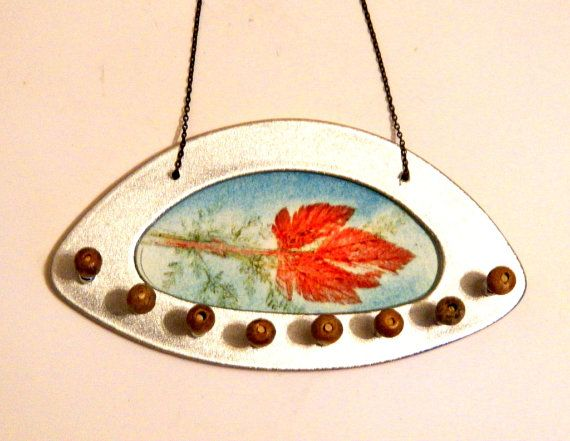 Wall Jewelry Holder Jewelry Display Necklace por Tutorialpaper