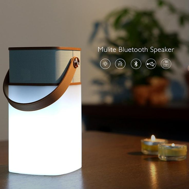 New Rock Mulite Led Usb Bluetooth Mini Computer Speakers Card Portable Wireless 3.5mm Audio Adjustable Brightness Focal Speakers Ihome Speaker From Dhiphone, $28.15| Dhgate.Com