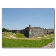 Castillo de San Marocs Postcard