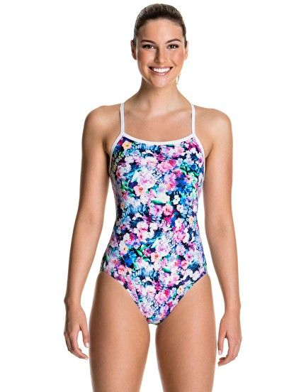 Funkita Spring Forest Single Strap One Piece