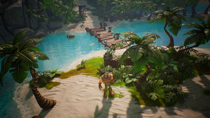 Stylized Water For Game Environments in UE4  3D artist Olivier Cannone shared some techniques he uses to build outstanding stylized water in the new game he's working on.