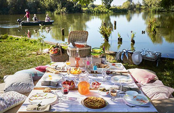 Ideas para comer al aire libre