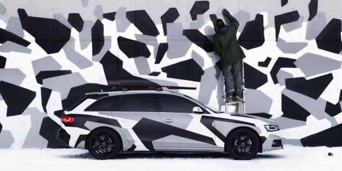 Audi A4 Jon Olsson Design