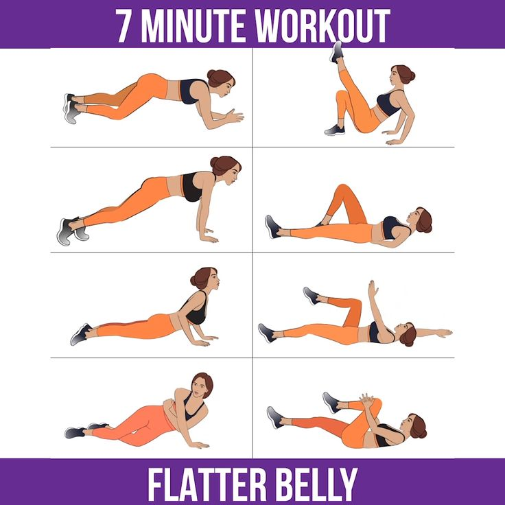 7 Minutes Workout to Get Flatter Belly at Home