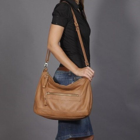 Soft Leather Shoulder Bag 83