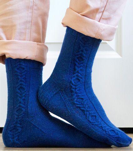 Battle of Wills Free Sock Knitting Pattern