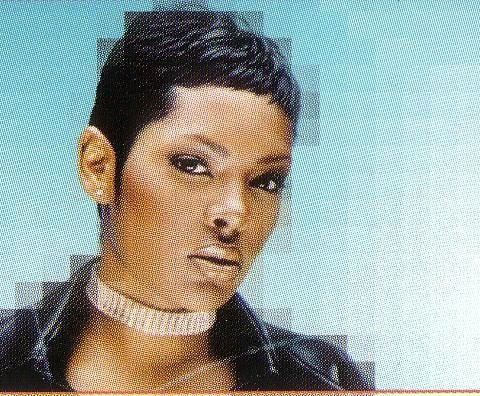 keisha from girl group total  short hair stylzes  cute