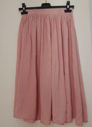 À vendre sur #vintedfrance ! http://www.vinted.fr/mode-femmes/jupes-longues/23959852-jupe-midi-longue-orange-pastel