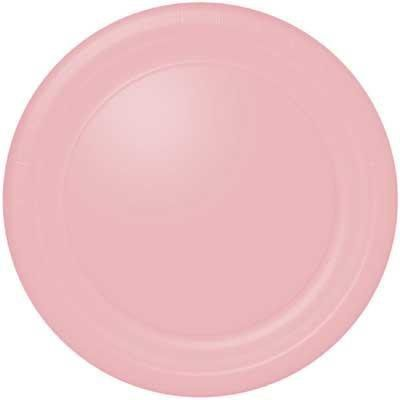 "Light Pink Dinner Plates (24 count) by Amscan. $2.99. Includes (24) 9"" dinner plates."