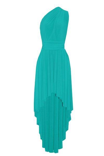 b6c80aca46f Mint green bridesmaids dress. High low infinity gown. Multiway prom dress.  Wrap evening gown. Plus size formal dress  infinitydress  bridesmaidsdress  ...