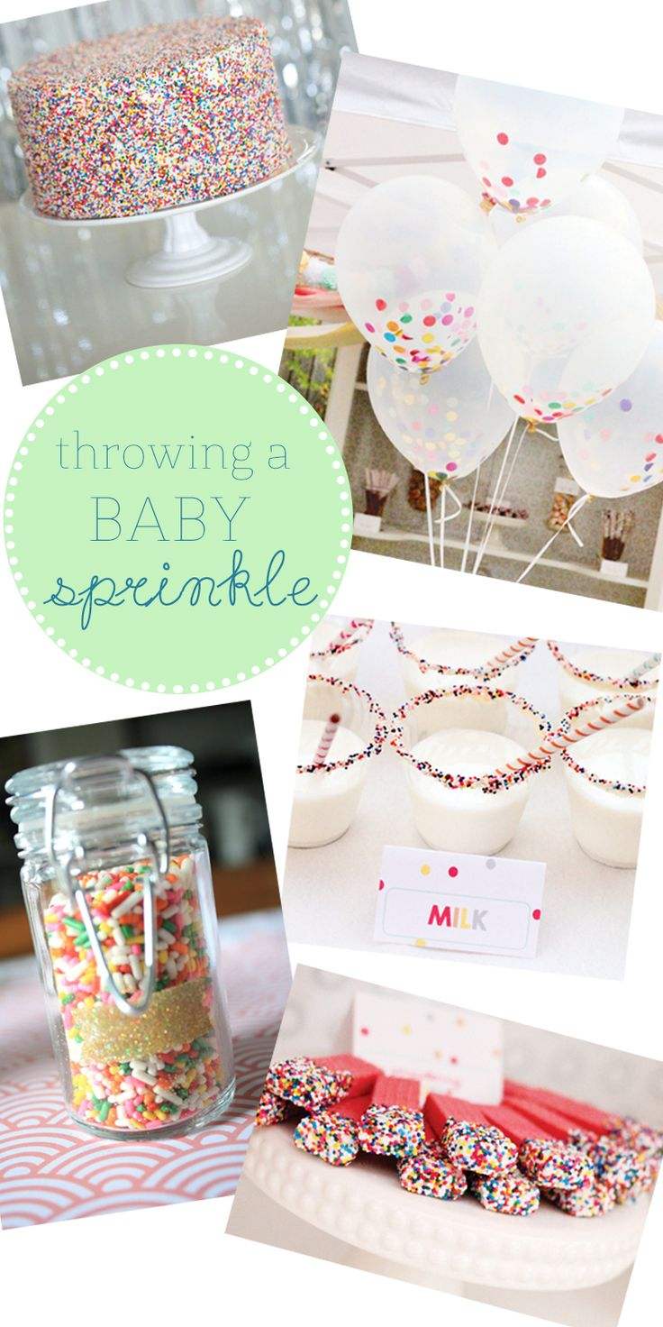 Baby Sprinkle! Shower Party Planning Ideas for Baby 2 or 3.