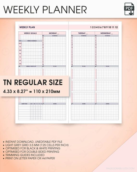 Custom Planner & - Create your own at