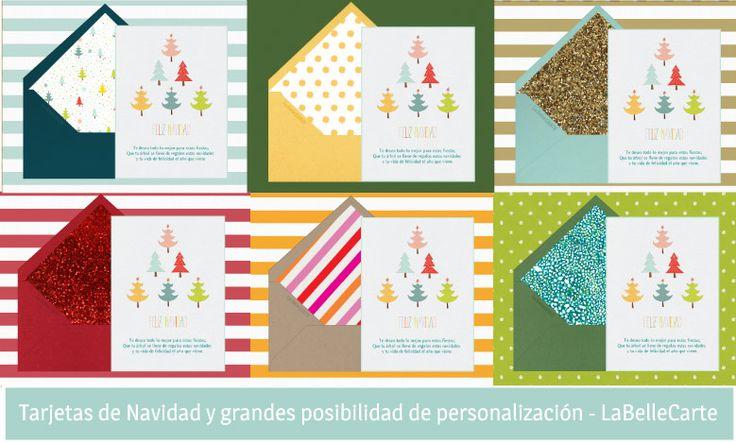 Tarjetas de Navidad y Felicitaciones de Navidad Personalizadas LaBelleCarte