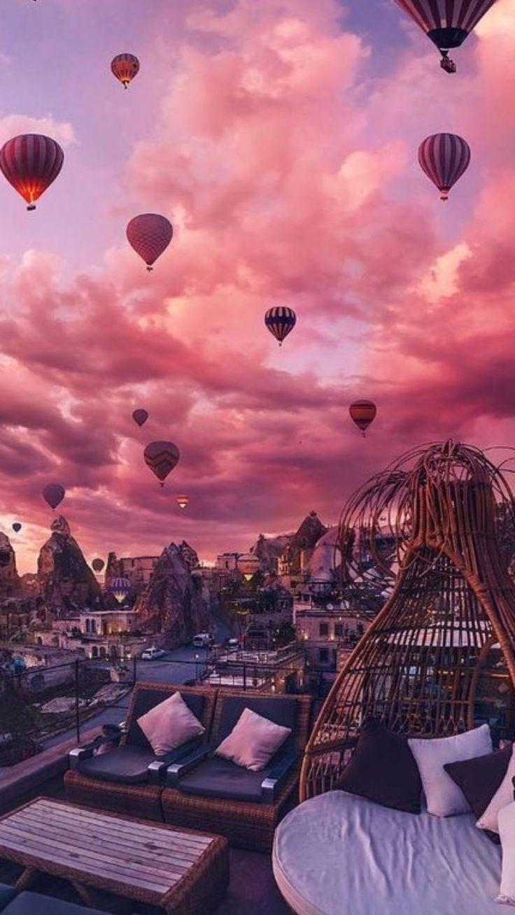 Wir würden das gerne eines Tages sehen! #travel #destinations #hotairballoon #nature #outdoors