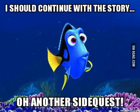 But I have to do the side quest! What if I miss something?