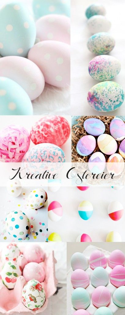 #Ostern – viele kreative Ideen für schöne Ostereier / #easter – best easter eg…