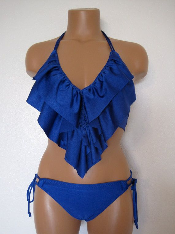 Ruffle Bikini $70