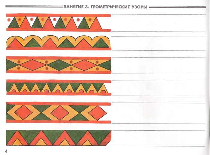 The patterns of the Northern Dvina. Permogorskaya painting .. Discussion on LiveInternet - Russian Service Online diary