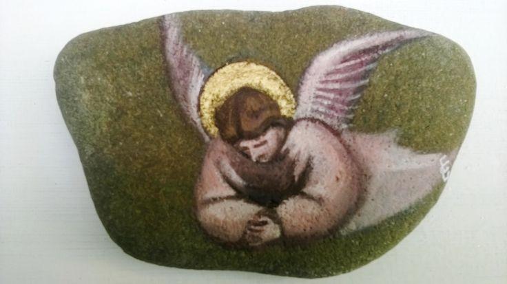 Image of Giottino Angelo su pietra