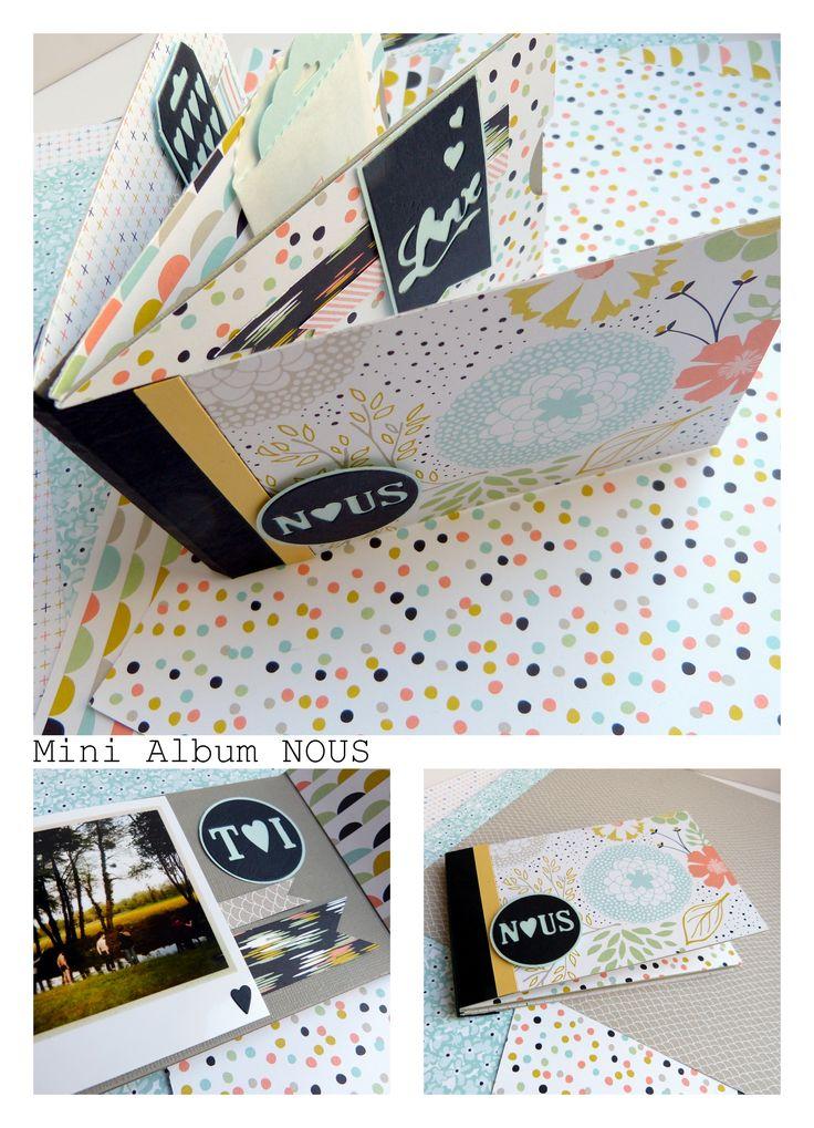 Mini album scrap http://millefacettes.canalblog.com/