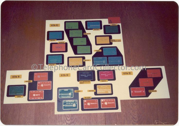 Landis & Gyr - Sodeco Phonocards - BTK 10, 11, 12 and 13.