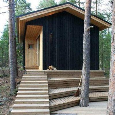 Sauna: 2057 House Kekkapää / Experimental Wooden Building