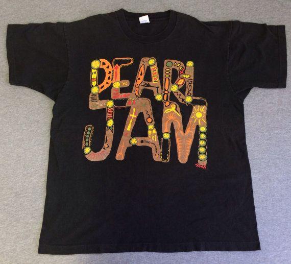 Vintage pearl jam shirts