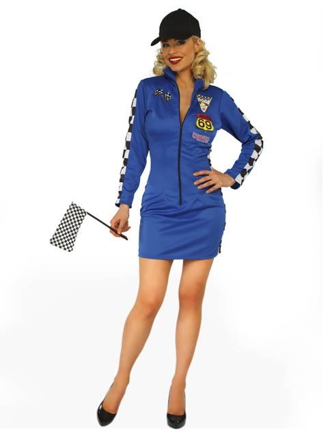 Ladies Race Car Driver Halloween Costume