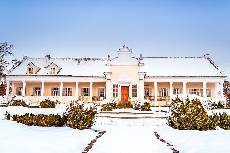 The Apafi mansion in the Transylvanian village of Mălâncrav