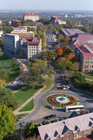 Most beautiful campus in the world. Not to mention that amazing Chi O house in the right bottom corner ;)