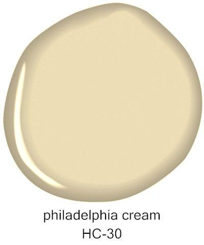 #BenjaminMoore Philadelphia Cream HC-30