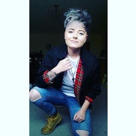 @coleykid91 #uk #tomboymodel #tomboy #model #models #tomboystyle #tomboygirl #tomboyswag #androgynous #lesbian #pansexual #gay #transgender #lgbt #tattoos #piercing #tattoo #piercings #girlswithtattoos #girlswithpiercings #girlswithshorthair #hot #cute #beauty #queer #genderqueer #no8 #boi
