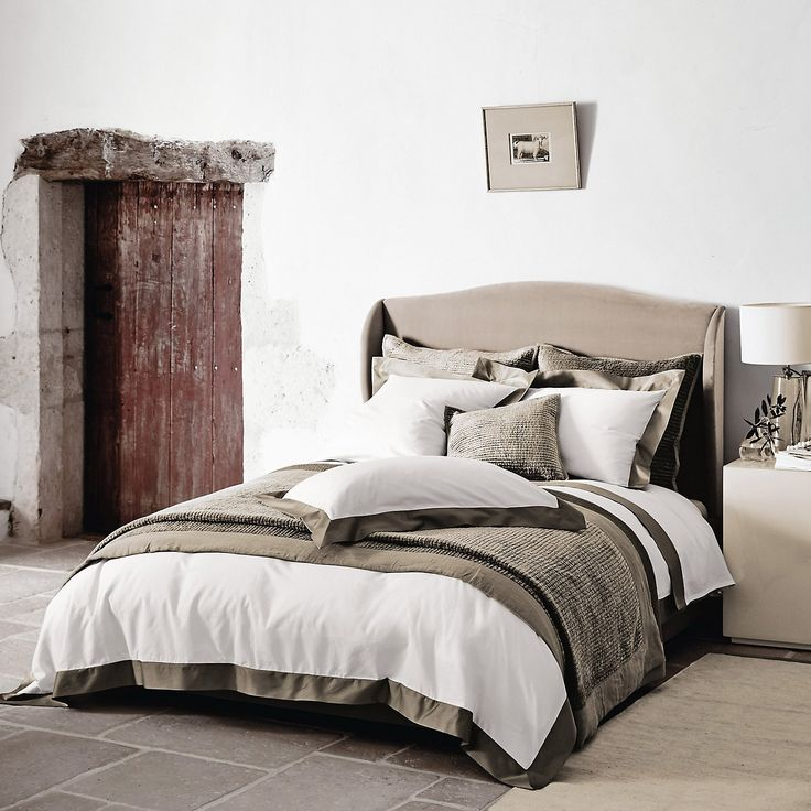 Suffolk Bed Velvet   2 Colours From The White Company