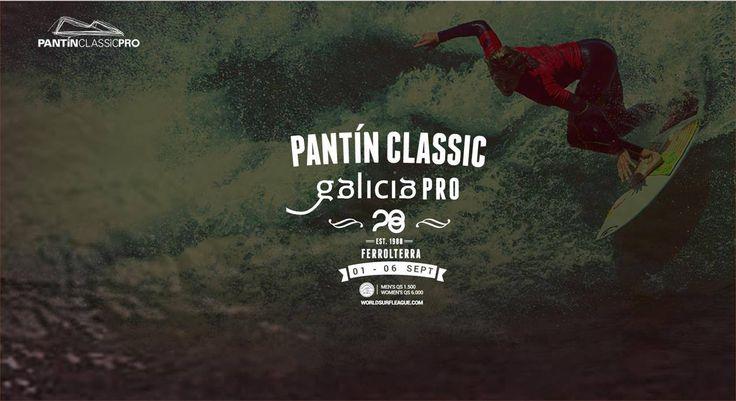 #PantinClassic   #Galicia   Pro - Campeonato Mundial de #Surf  en #Valdoviño   Desde hoy martes 1 al domingo 6 de Septiembre en #Pantín  y a lo largo de las seis jornadas, los asistentes podrán disfrutar con la competición de surf masculina y femenina a partir de las 9.00 horas, donde también estarán presentes deportistas nacionales e internacionales luchando por el triunfo hasta las 20.00 horas. #ViajesTuriplanet