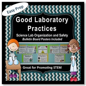 Everything you need is included in the download.  Easy Preparation.  Just make copies and do some cutting and pasting.  Introduce your students to Good Laboratory Practices.  This packet contains everything you need to instruct your students in learning laboratory safety.