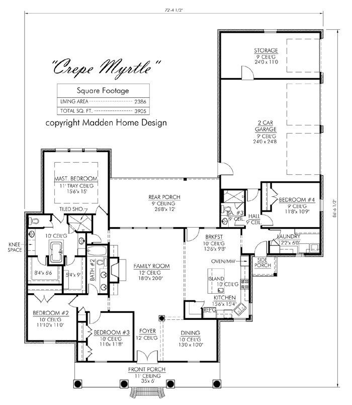 Madden Home Design   Acadian House Plans, French Country House Plans |  Dream Home | Pinterest | Madden Home Design, Acadian House Plans And French  Country ...