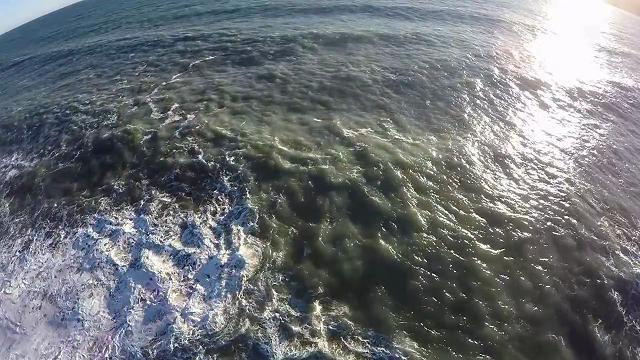 Zoagli, la mareggiata vista dal drone - Repubblica.it Mobile