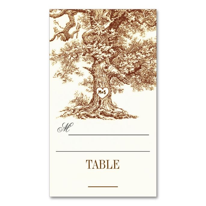 double sided place card template - 1000 images about elegant tree business cards on pinterest