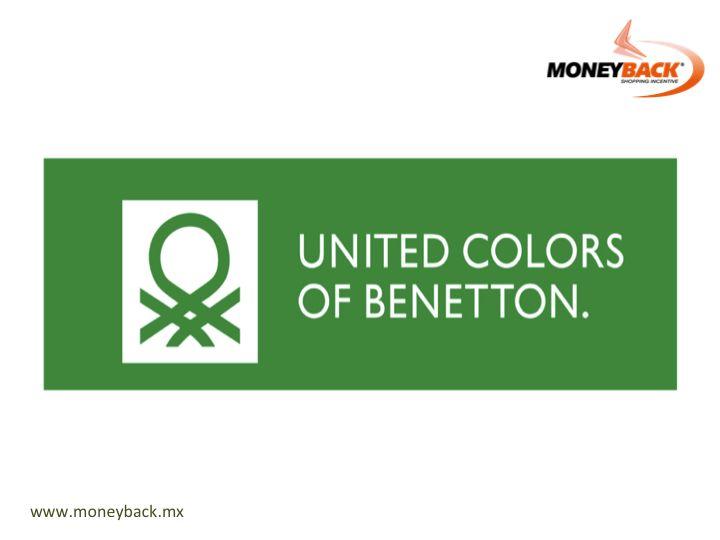 Benetton, la marca de ropa italiana con 48 años de existencia que trajo color a la industria de la moda es un negocio afiliado a Moneyback. Compra en cualquiera de sus tiendas en México, pide un recibo ¡y obtén un reembolso de impuestos en uno de nuestros módulos! #Benetton