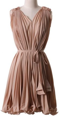 Gorgeous pleated dress