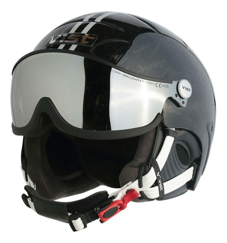 super mountain black vist cool ski helmets ski ski. Black Bedroom Furniture Sets. Home Design Ideas