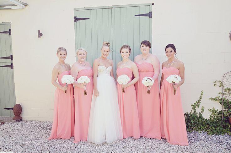Long bridesmaid dress style