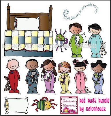 Melonheadz Illustrating Bed bugs and math bundles:)