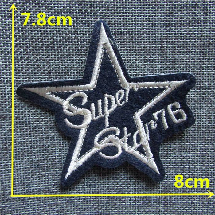 hot sale high quality letter patch hot melt adhesive applique embroidery patch DIY clothing accessory patch 1pcs sell C163-C426