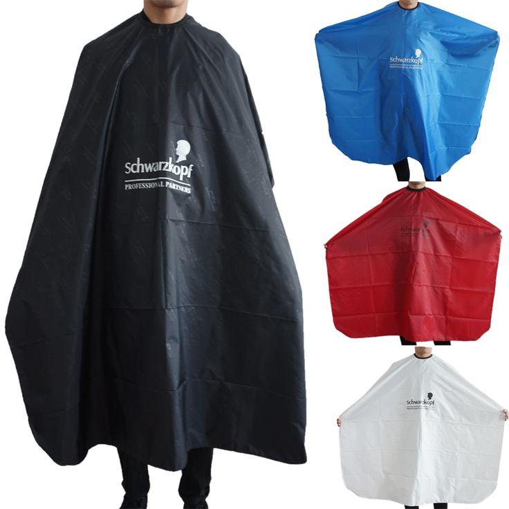 Hot Jual Rambut Cutting Cape, 3 Warna Untuk Memilih Kain Tukang Cukur Cape Untuk Salon Hairdressing Wrap Dibuat Dengan Baik Dewasa Rambut Gown.