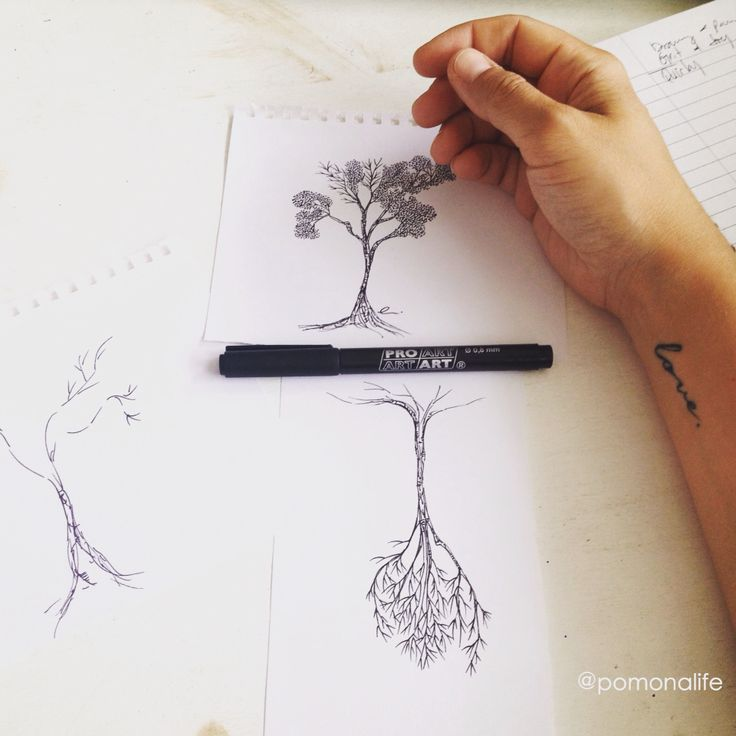 Hanging out in the trees today :)) #arthustle #lovelife #artlife ~a. #acurrie #creatinglifeart #pomonalife ~~~~~ What does your art look like?! ~~~~~ #toronto #torontoart #torontoartist  #draw #treeart #treelove #sketch #inspiration