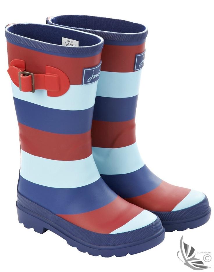 Joules Kids' Help For Hero Wellington Boots - Multi O_HELP4HEROWELYK