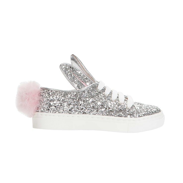 Minna Parikka Mini Tail Sneaks silver glitter