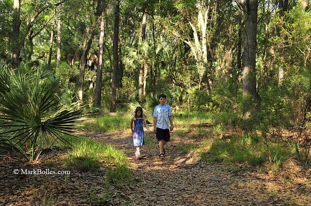 Skidaway Island State Park in Savannah, Georgia.